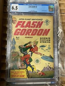 Flash Gordon #4 (1950, Harvey) - CGC 6.5