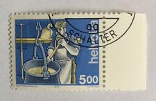 1 timbre suisse YT CH1434, Zum:CH 854 oblitéré 1er jour Le fromager
