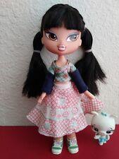 Girlz Girl Bratz Kidz Kid Jade Doll Black Hair Brown Eyes Original Clothes Shoes