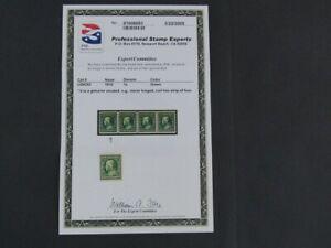 Nystamps US Stamp # 392 Mint OG NH $60 PSE Certificate j16yu