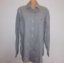 Lauren Ralph Lauren Women's Button-Front 100% Cotton Casual Shirts for Men