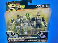 Ben 10 Alien Creation Chamber Figure Set: Ultimate Spidermonkey & Nanomech