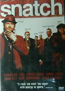 Guy Ritchie's SNATCH (2000) Brad Pitt Jason Statham Vinnie Jones Benico Del Toro