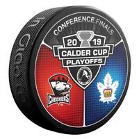 2019 AHL Calder Cup Playoffs Charlotte Checkers v Toronto Marlies Hockey Puck