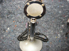 Vintage Astatic D-104 Ham microphone w/T-UG8 base - Works FB and looks gd