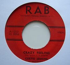 CURTIS JENKINS: Crazy Feeling (RAB)  50's Rocker