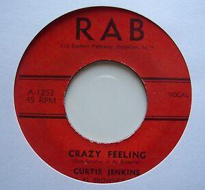 CURTIS JENKINS: Crazy Feeling (RAB)  50's Rocker