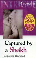 Captured by a Sheikh (Intrigue S.) by Diamond, Jacqueline Paperback Book The