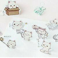 45Pcs/set Kawaii Stickers Cat Sheet Diary Journal Scrapbook Planner Supplies