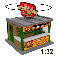 1:32 Spur 1 Jimmy's Burger Stand w/Motorized Rotating Banner