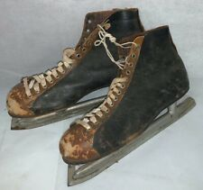 New listing Vintage Primative Royal Anadian Made in USA Old Ice Skates Decor