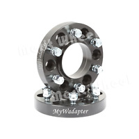 """Wheel Spacer Adapters Black 20 mm 5X4.75"""" 5x120.65 Hub Centric 2 PCS Holden HQ"""