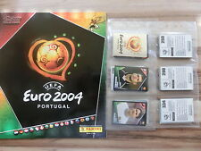 PANINI EURO 2004 04 * SET COMPLETO ALBUM VUOTO ** loose Set Empty album