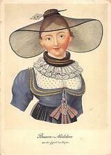 BF39126  bauern madchen  painting art postcard