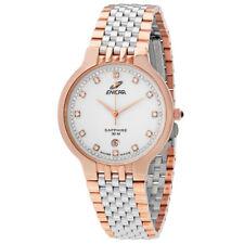 Enicar White Dial Diamond Unisex Watch 955/33/2772GP