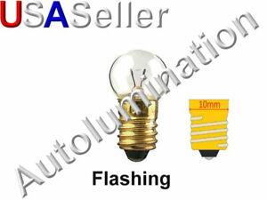 Lionel Train Blinker Bulb G4-1/2 E10 Screw Base 3v Blinking Flashing Flasher