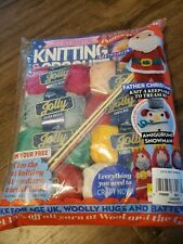 Let's Get Crafting Knitting & Crochet Magazine Holiday Christmas Edition