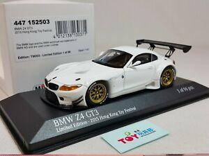 1:43 Minichamps BMW Z4 GT3 E89 2015 HK Toy Fair Festival Spielwarenmesse 96 pcs