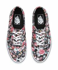 Fashion Sneakers Canvas Medium (B, M) Floral Shoes for Women