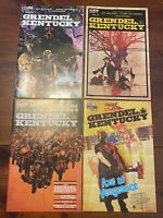 Grendel Kentucky Comics 1,2,3,4 AWA Artists Writers & Artisans 2020-Complete Set