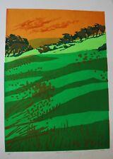 GREEN LANDSCAPE BY PAMELA GUILLE ARCA - IMPORTANT ARTIST