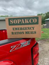 SOPAKCO MRE Emergency Survival Military Ration 1 Case 14 Meals Low Sodium