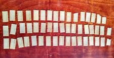 Reclaimed Piano Key Ivory 50 Pieces Crafts Jewelry