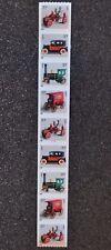 2002USA #3638-3641 37c Antique Toys - PNC Coil Strip of 9  Mint