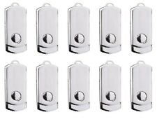 Lot, (10 PACK ) 128MB USB 2.0 flash drive Metal Disk Storage Memory Thumb Stick