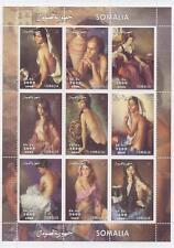 Érotique femme sexy femmes de la Somalie 2000 neuf sans charnière timbre sheetlet