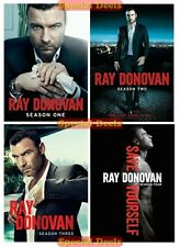 New Ray Donovan The Complete DVD TV Series Seasons 1 2 3 & 4 Sealed In Stock 1-4