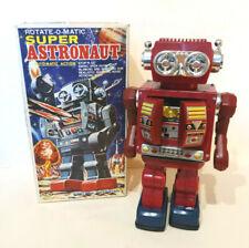 SJM Super Astronaut Robot à Piles 30 Cm Battery Operated Taiwan Neuf + Boite