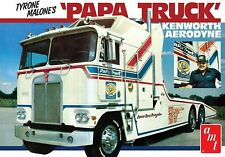 AMT Tyrone Malone's Papa Truck 932 1/25 Plastic Model Kit Kenworth Aerodyne