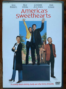 America's Sweethearts DVD 2001 Romcom Movie w/ Catherine Zeta Jones Region 1