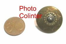 East Yorkshire Regt - Officer's Tunic Button - 26mm - Bouton Angleterre  39/45