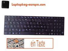Taste Ersatztaste Tastatur - ASUS X66IC -  Typ Chiclet Schwarz