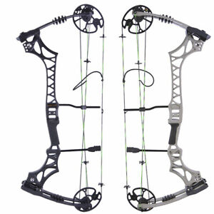 Archery Compound Bow 30-70lbs Adjustable Let Off 80% Hunting Shooting Fishing