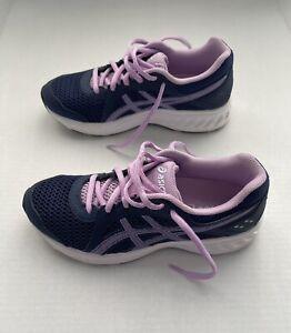 ASICS Kids Girls Jolt 2 Running Shoes Size 4 Purple