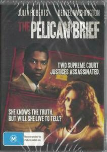 The Pelican Brief DVD Julia Roberts Denzel Washington New and Sealed Australia