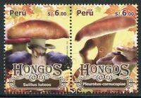 Peru 2010 Pilze Funghi Mushrooms Pflanzen Plants 2463-64 Postfrisch MNH