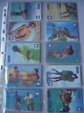 SUMMER 2001 - Complete Set of 10 Different Phone Cards from Brazil