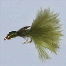 6 GOLD HEAD DAMSEL NYMPHS  3 SIZE OPTIONS AVAILABLE  Fly fishing flies trout