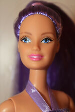 Lovely in Lilac! Silky Pale Purple Straight Hair PT Barbie Doll Reroot OOAK
