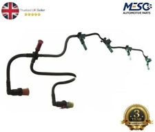 FUEL INJECTOR RETURN PIPE LEAK OFF+CLIPS FITS FIAT DUCATO 250 100 M 2.2 2006-11
