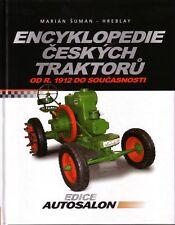 Book Czech Tractors 1912-99 Zetor Praga LKT - Encyklopedie Ceskych Traktoru