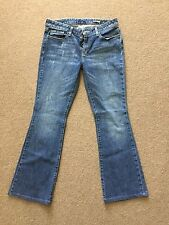 Womens WILLIAM RAST for TARGET JEANS Boot Cut Stretch Size 30