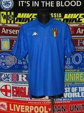 5/5 italie adultes xl 1998 kappa menthe rétro rare football shirt jersey trikot