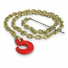 Portable Winch Co. PCA-1295 7' Choker Chain with C-Hook and Steel Rod