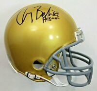 Gary Beban CHOF 1967 Heisman Trophy Signed Autographed UCLA Mini Helmet JSA