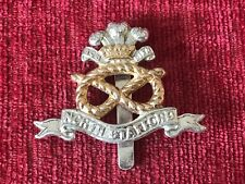 North Staffordshire Regiment Stay Bright Anodised Cap Badge JR Gaunt 44/11